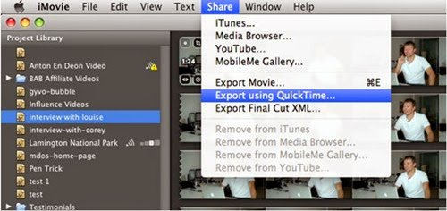 imovie save project Saving an unfinished imovie project for completion later you may have noticed that there is no save option in the menus for imovie that is because your project is.
