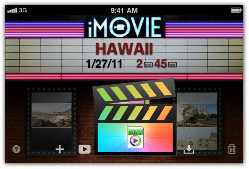 how to make a video on imovie